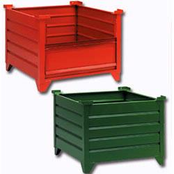 Steel Containers - Steel Bins and Boxes