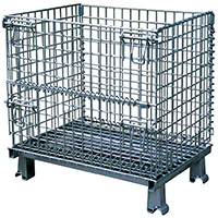 Stromberg Wire Mesh Containers from Wire Products